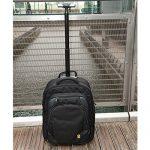 GATE8 Cabin MATE 55x35x20 FlyBe Hand Luggage, Bagage cabine noir noir Cabin Sized de la marque Gate8 image 4 produit