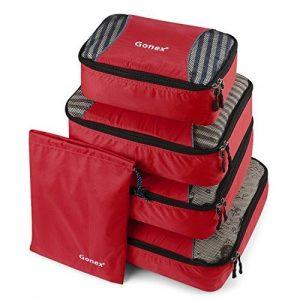 Gonex Kit de Sacs de Rangement Sacs à bagage sac de voyage Organisateur Valise Sac Cube à Emballer Vêtement Emballage Nylon Léger Durable de la marque Gonex image 0 produit