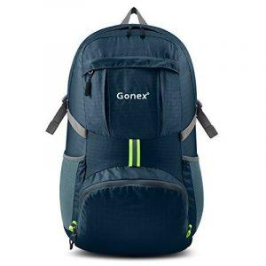 Gonex - Sac à dos pliable Sac sport pour ordinaire portable Sac imperméable unisexe- Pour camping, randonnée, voage, fitness Sac étanche de 35L de la marque Genox image 0 produit