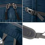 Gonex - Sac à dos pliable Sac sport pour ordinaire portable Sac imperméable unisexe- Pour camping, randonnée, voage, fitness Sac étanche de 35L de la marque Genox image 3 produit