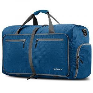 Gonex Sac de Voyage 80L sac pliable Sac imperméable pliant Pour camping Randonnée Voyage Vert de la marque Gonex image 0 produit