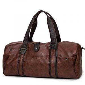 Grand sac de sport Voyage PU Hommes Sac à main pour voyage de la marque MINGCHEN image 0 produit