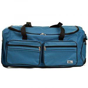 Grand sac de voyage trolley 100L avec roulettes - Bleu - sac transport & cadenas de la marque DEUBA GmbH & Co. KG. image 0 produit