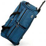 Grand sac de voyage trolley 100L avec roulettes - Bleu - sac transport & cadenas de la marque DEUBA GmbH & Co. KG. image 4 produit