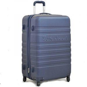 Grande valise 70 cm Bleu Marine Little Marcel de la marque Little Marcel image 0 produit