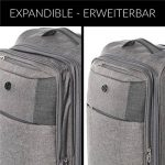 Grande valise souple 4 roues - top 14 TOP 1 image 6 produit
