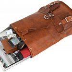 """Gusti Cuir nature """"Gary 13"""""""" sac à dos en cuir backpack bagage à main bagage cabine sac randonnée sac porté épaule homme femme cuir de chèvre marron foncé M31 c de la marque Gusti Leder nature image 3 produit"""