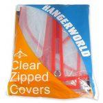 Hangerworld Lot de 12 housses de protection transparentes zippées pour costumes/manteaux de la marque Hangerworld image 6 produit