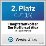 HAUPTSTADTKOFFER - Alex - Ensemble de 3 Valise Rigide de la marque Hauptstadtkoffer image 4 produit