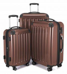 HAUPTSTADTKOFFER - Alex - Ensemble de 3 Valises Rigides Marron, TSA, (S, M & L), y compris le sac de culture de la marque Haupstadtkoffer image 0 produit
