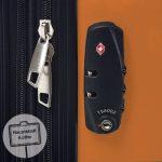 HAUPTSTADTKOFFER - Alex - Valise à coque dure Orange Brillant, TSA, 75 cm, 119 litres de la marque Hauptstadtkoffer image 5 produit