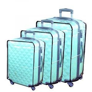 Hibate Couvertures Housse Protection de Bagages à Roulettes pour Valises 47-78cm XS S M L XL XXL XXXL de la marque Hibate image 0 produit