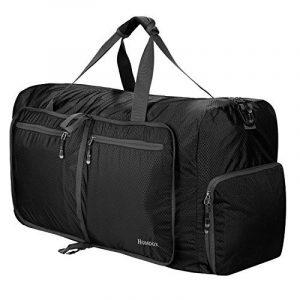 Homdox 85L Duffel Sac de Voyage, sac polochon Léger pliable, Noir de la marque Homdox image 0 produit