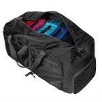 Homdox 85L Duffel Sac de Voyage, sac polochon Léger pliable, Noir de la marque Homdox image 6 produit
