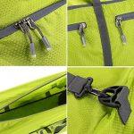 Homdox 85L Duffel Sac de Voyage, sac polochon Léger pliable, Vert clair de la marque Homdox image 4 produit