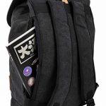 HotStyle 902s Sac à dos voyage en toile imperméable 26L - Noir de la marque Hotstyle image 4 produit