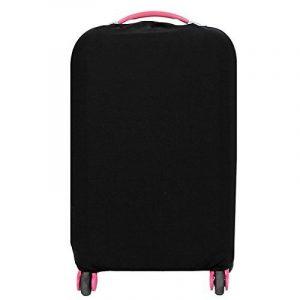 housse de protection valises Elastique Couverture pour la Valise Résistant voyage bagages couvre chariot cas protection couvrir Noir (L) de la marque S.D. Maket image 0 produit