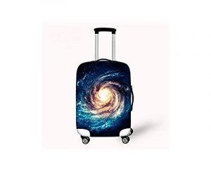 Hysenm Housse de Protection pour Valise 55-61cm / 22-24 pouces Zippé Élastique Résistant Couverture Bagage Voyage galaxie M de la marque HYSENM image 0 produit