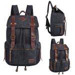 iDream - 2014 nouveau sac à dos sac en toile d'épaule pour école hiking camping randonnée voyage etc. - 32cm * 18cm * 43cm - pour ordinateur jusqu'à 14'' de la marque iDream image 3 produit