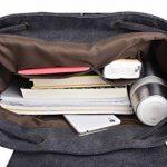 iDream - 2014 nouveau sac à dos sac en toile d'épaule pour école hiking camping randonnée voyage etc. - 32cm * 18cm * 43cm - pour ordinateur jusqu'à 14'' de la marque iDream image 6 produit