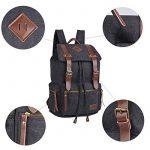 iDream - 2014 nouveau sac à dos sac en toile d'épaule pour école hiking camping randonnée voyage etc. - 32cm * 18cm * 43cm - pour ordinateur jusqu'à 14'' de la marque iDream image 4 produit