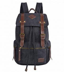 iDream - 2014 nouveau sac à dos sac en toile d'épaule pour école hiking camping randonnée voyage etc. - 32cm * 18cm * 43cm - pour ordinateur jusqu'à 14'' de la marque iDream image 0 produit