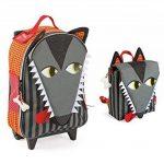 Janod - Valise à roulette enfant - Animal au choix de la marque Janod image 5 produit
