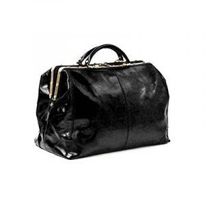 Katana - Sac de voyage Cuir de vachette DILIGENCE - Noir de la marque Katana image 0 produit
