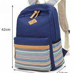 Keshi Toile Nouveau style Sac à dos multi-fonction - Voyages, scolaire, loisirs de la marque Keshi image 4 produit