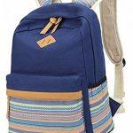 Keshi Toile Nouveau style Sac à dos multi-fonction - Voyages, scolaire, loisirs de la marque Keshi image 5 produit
