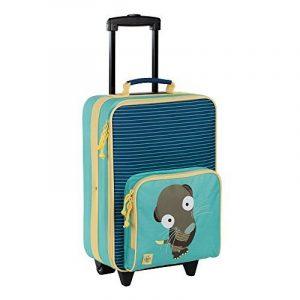 Lässig Lässig Kindertrolley, Wildlife Erdmännchen Bagage cabine, 46 cm, Multicolore (Blau) de la marque Lässig image 0 produit
