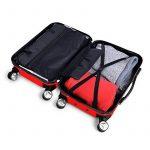 LDUDU ® Valise rigide à 4 doubles roues,Bagages avec 4 doubles roues 360°,coque rigide de la marque LDUDU image 3 produit