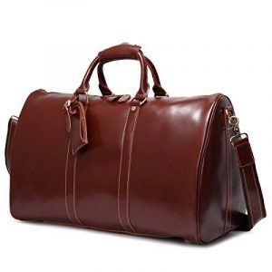 Leathario,sac en cuir, sac voyage en cuir, sac bandouliere, sac voyage, homme, sac a main, ¨¤ l'epaule de la marque Leathario image 0 produit