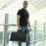 Leathario,sac en cuir, sac voyage en cuir, sac bandouliere, sac voyage, homme, sac a main, ¨¤ l'epaule de la marque Leathario image 1 produit