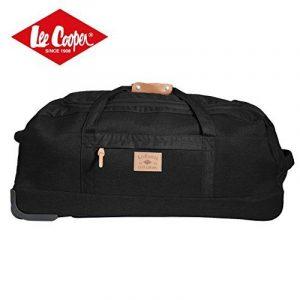 LEE COOPER Sac de Voyage/Sport à Roulettes 2 Roues 80cm + trolley Noir de la marque Lee Cooper image 0 produit