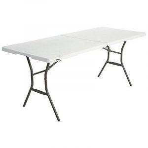 Lifetime Table pliante Blanc Granite 182,9 x 76,2 x 73,6 cm 80471 de la marque Lifetime image 0 produit