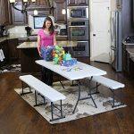 Lifetime Table pliante Blanc Granite 182,9 x 76,2 x 73,6 cm 80471 de la marque Lifetime image 4 produit