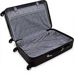 Lot de 3 valises renforcées set de voyage - 3 valises verrou - couleur au choix de la marque Deuba image 1 produit