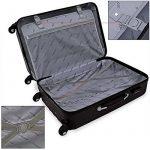 Lot de 3 valises renforcées set de voyage - 3 valises verrou - couleur au choix de la marque Deuba image 3 produit