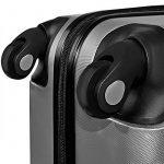 Lot de 3 valises renforcées set de voyage - 3 valises verrou - couleur au choix de la marque Deuba image 5 produit