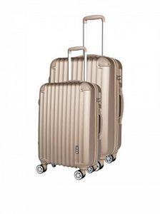 Lots 2 Valises - ABS 8 Roues Airplane de la marque Compagnie du bagage image 0 produit