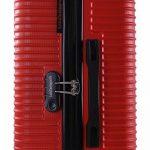 Lulu Castagnette Valise Trolley Cdn Rigide Rouge 68 cm de la marque Lulu Castagnette image 3 produit