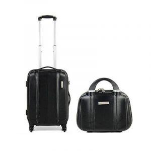 MADISSON - 60002B - Ensemble la valise cabine et Vanity rigide en ABS/Polycarbonate - Valises pas chers de la marque Madisson image 0 produit