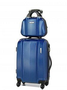 MADISSON -Ensemble valise 54 cm et vanity 29 cm rigide (Bleu) de la marque MADISSON image 0 produit