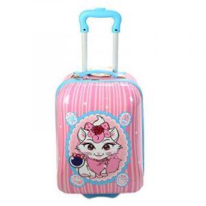 MADISSON - Valise fille, valise cabine rigide Kids 2 roues 41cm Chat de la marque Madisson image 0 produit