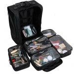 Malayas® Boîte à Maquillage Malette Maquillage Professionnel Valise Makeup Trolley Organisateur Beauté Artiste de la marque Malayas image 1 produit