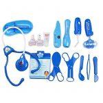 Malette Docteur Enfant Jeu Imitation Fille Garcon Avec Accessoires (Bleu) de la marque Fajiabao image 2 produit