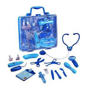 Mallette de Docteur Accessoires Jeu d'imitation Kit du Docteur Médicale Jouet pour Enfants 3+ de la marque Jerryvon image 0 produit
