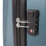 Master Gear 3valises en ABS avec fermeture éclair | 4rouleaux (360°)–Trolley, Valise, Valise rigide, TSA, empilable–S, M, L de la marque MasterGear image 5 produit