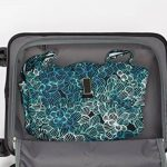 MasterGear - Set de 3 Valises en polypropylène à Fermeture éclair ultra légère et mobile - 4 Roulettes (360 °) - Valise rigide - Cadenas TSA - Emboîtables - Tailles S, M, L - Bleu de la marque MasterGear image 5 produit